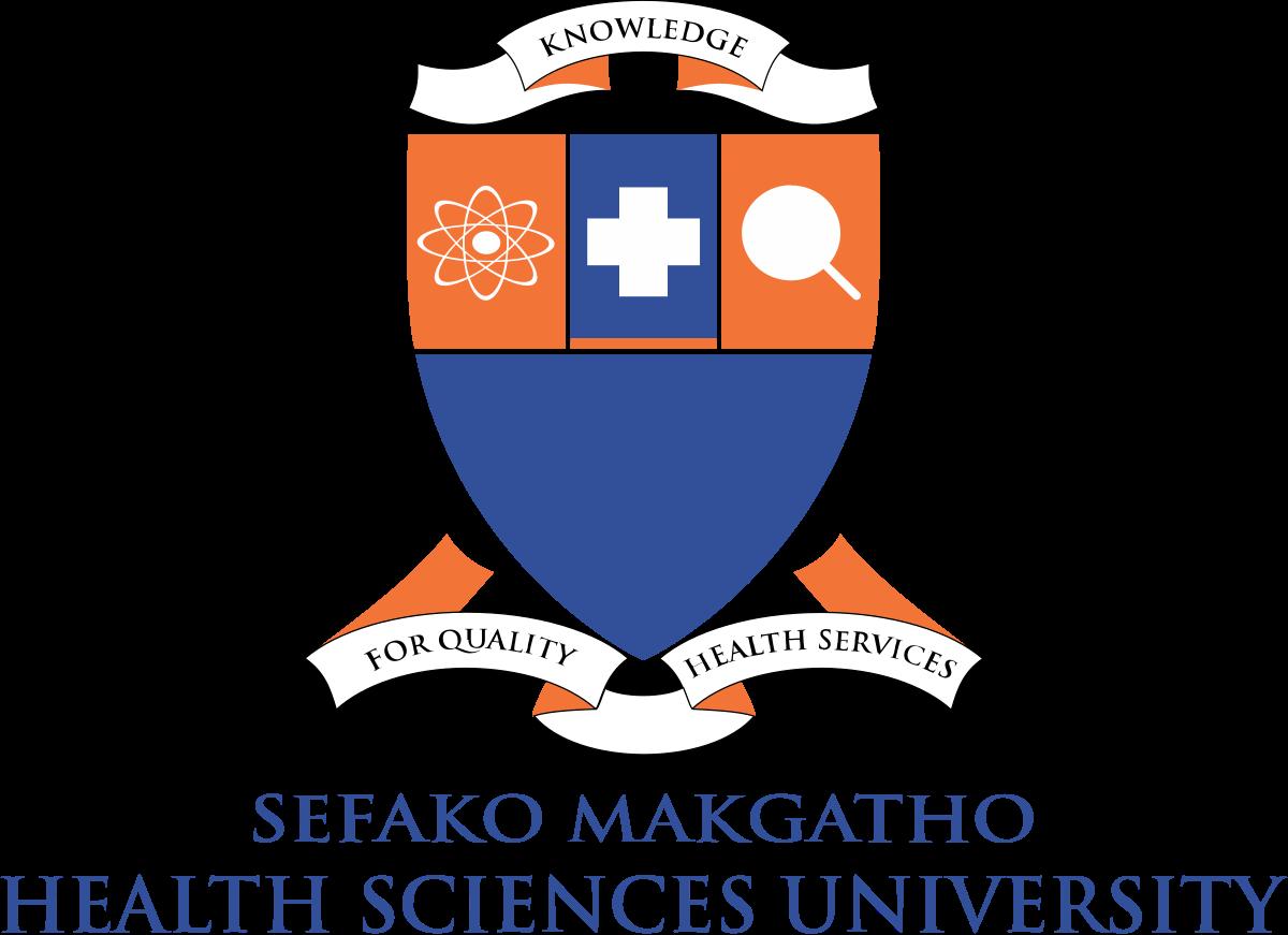 Antonio G Lentoor _ Lezani Myburgh _ Samkelisiwe Mahlungulu_Sefako_Makgatho_Health_Sciences_University_Logo_2018.svg